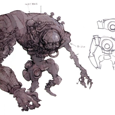 Concept art of the Acrolith.
