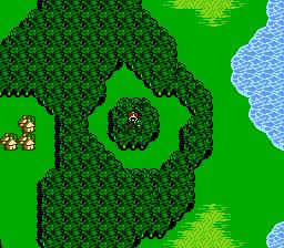 FFIII NES Chocobo Woods 1