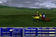 FFVII Chocobo goes nuts
