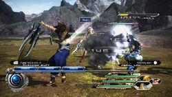 FFXIII-2 attack
