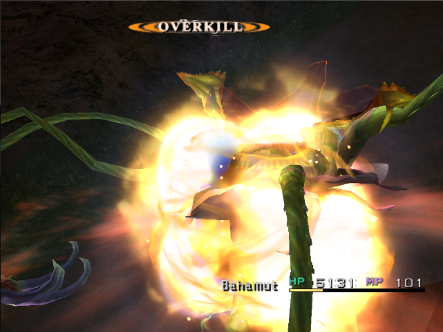 Example of Overkill in Final Fantasy X