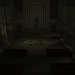 The church in <i>Crisis Core -Final Fantasy VII-</i>.