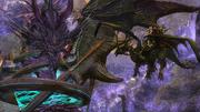 FFXIV Midgardsormr meets Tiamat