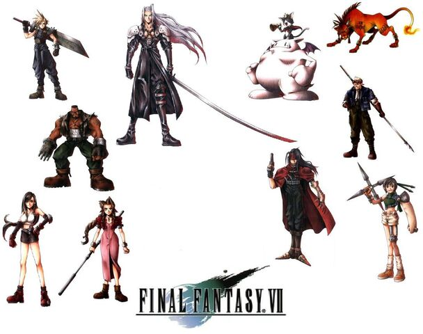 File:Final Fantasy VII Wallpaper.jpg