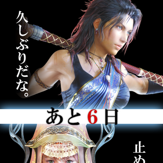 Promotional poster featuring Fang and Vanille.