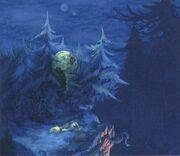 Evil Forest FFIX Art 1