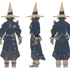 Black Mage concept art.