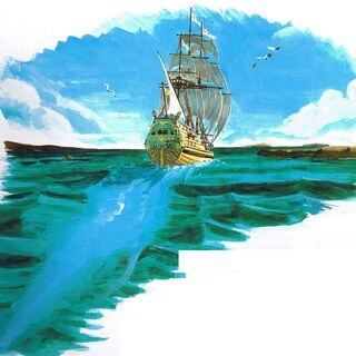 Mac's Ship artwork.