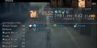 List of Final Fantasy XII stats