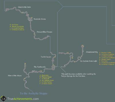 Mah'habara Subterra map