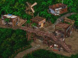 Mideel town