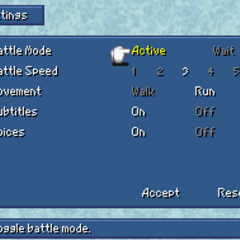 Config in the DS version.