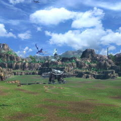 The Archylte Steppe in-game render.