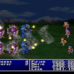 Fear cast on the enemy party in <i><a href=