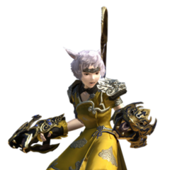 Monk render for the original <i>Final Fantasy XIV</i>.
