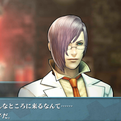 Screenshot of Kazusa in <i>Agito</i>.