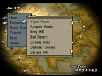 FFT Menu Option 1