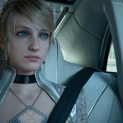 Luna as she appears in <i>Kingsglaive</i>.