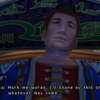 O'aka in <i>Final Fantasy X-2</i>.