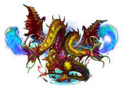 FFLTNS Two Headed Dragon Artwork