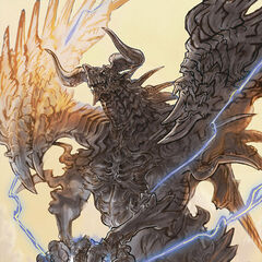 Bahamut's artwork in <i>Lord of Vermilion</i>.