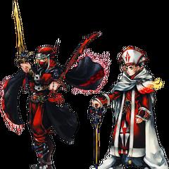 Ninja and Sage artwork.