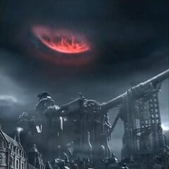 Sister Ray during Meteorfall from <i>Dirge of Cerberus</i>.