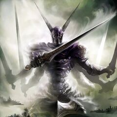 Concept art of Gilgamesh.