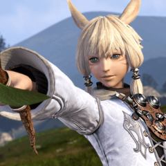 An early screenshot of Y'shtola.