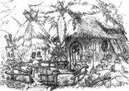 Black Mage Village Artwork