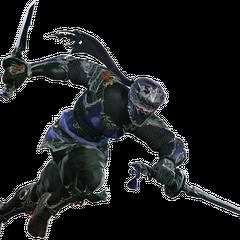 A Hyur Ninja in <i><a href=
