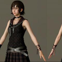 Character model up close.
