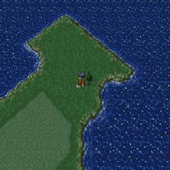 Mobliz on the World of Balance map (SNES).