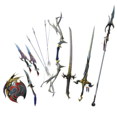 Bartz's Weapon Pack II.