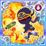 FFAB Throw (Flame Scroll) - Shadow SSR+