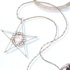 Star Pendant artwork.