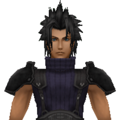 Model of 2nd class Zack from <i>Crisis Core -Final Fantasy VII-</i>.