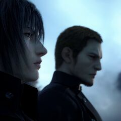 Noctis and Cor at E3 2013 Tralier.