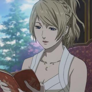 Adult Lunafreya in <i>Brotherhood Final Fantasy XV</i>.