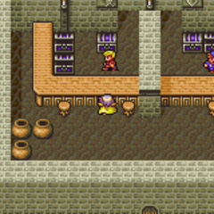 Baron's Weapon Shop (GBA).