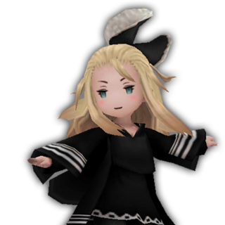Edea as a Wizard.