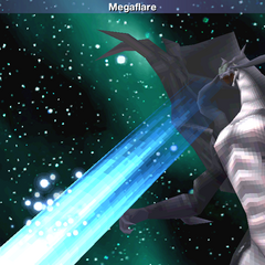 Megaflare as a summon ability in <i><a href=