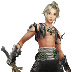 Vaan's appearance as drawn by Yoshitaka Amano render.