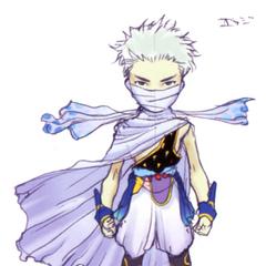 Akira Oguro concept art of Edge (DS).