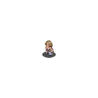 Yuna's <i>Final Fantasy X-2</i> sprite.
