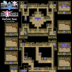 Kashuan Keep's Map (GBA).