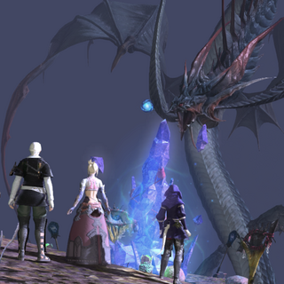 Leviathan in <i>Final Fantasy XIV: A Realm Reborn</i>.