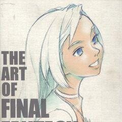 Garnet on the cover of <i>Art of Final Fantasy IX</i>.