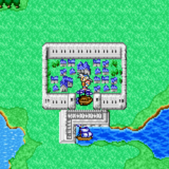 Paloom on the World Map (GBA).