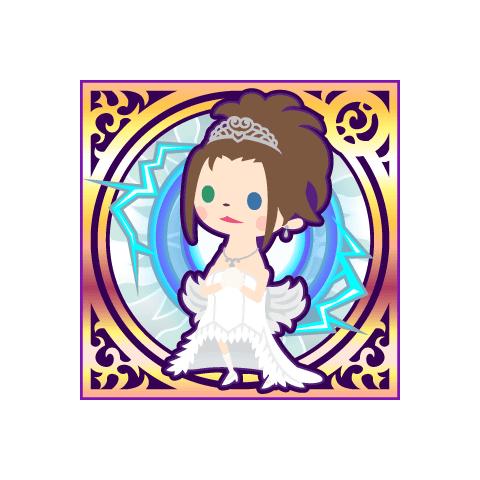 Yuna's wedding dress.